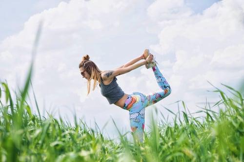 Yoga Feet Stretching Sweeney