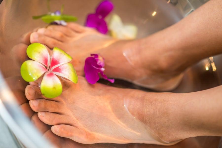 pampered feet - foot masks